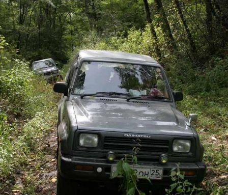 Daihatsu Rocky 1991 - отзыв владельца
