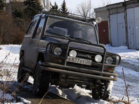 Daihatsu Rugger 1987 - отзыв владельца