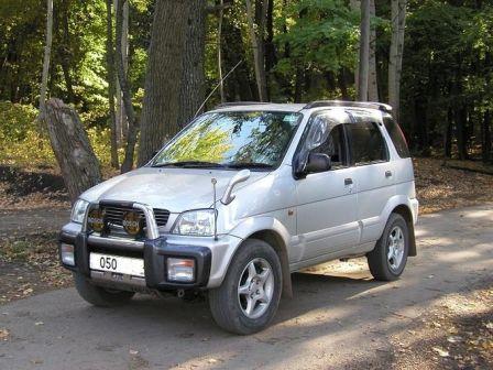 Daihatsu Terios 2000 - отзыв владельца