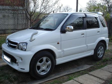 Daihatsu Terios 2004 - отзыв владельца
