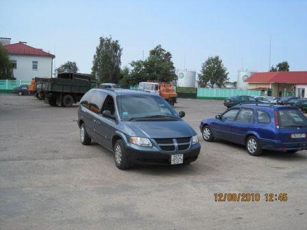 Dodge Caravan 2001 - отзыв владельца