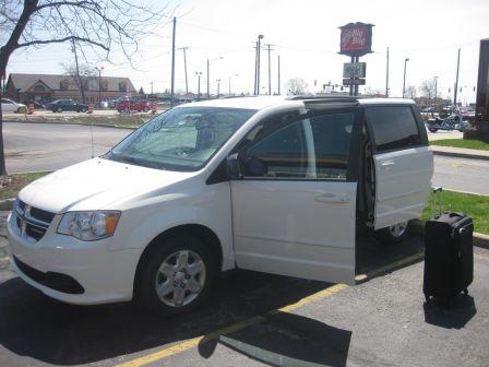 Dodge Caravan 2012 - отзыв владельца
