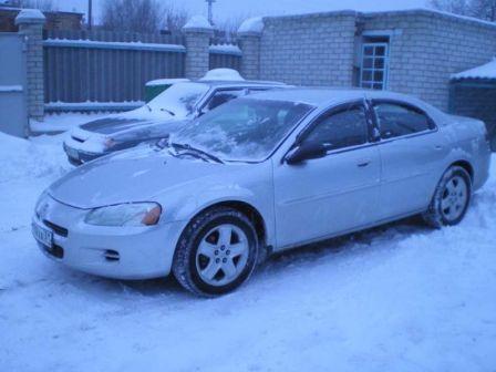 Dodge Stratus 2001 - отзыв владельца