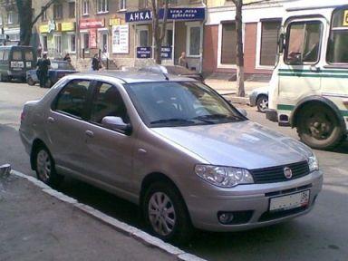 Fiat Albea 2008 отзыв автора | Дата публикации 30.04.2009.
