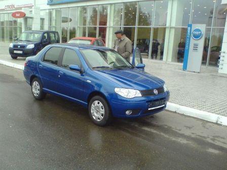 Fiat Albea 2008 - отзыв владельца
