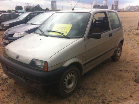 Fiat Cinquecento 1998 - отзыв владельца
