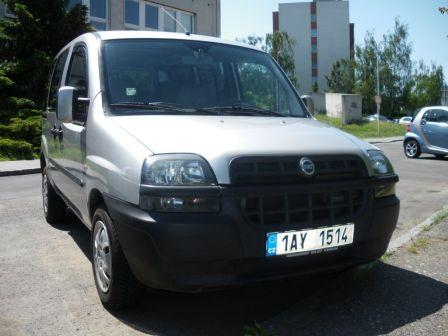 Fiat Doblo 2002 - отзыв владельца
