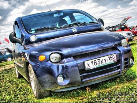 Fiat Multipla 2001 - отзыв владельца