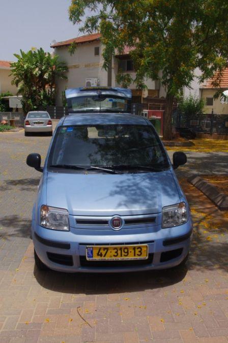 Fiat Panda 2011 - отзыв владельца