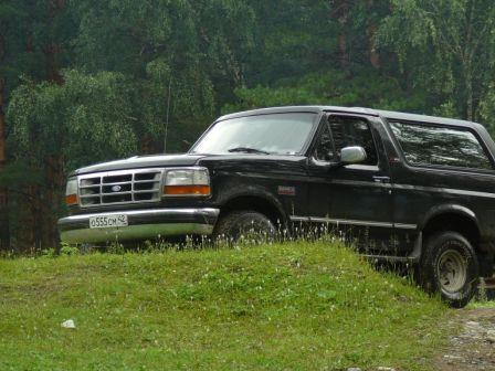 Ford Bronco 1995 - отзыв владельца