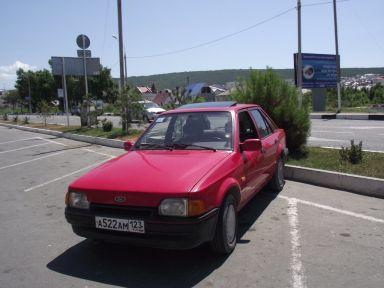 Ford Escort, 1989