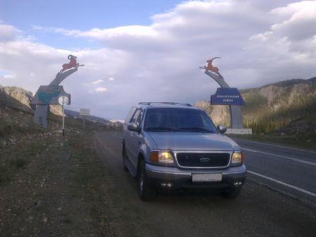 Ford Expedition 2001 - отзыв владельца