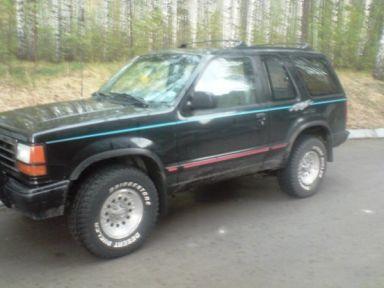 Ford Explorer, 1993