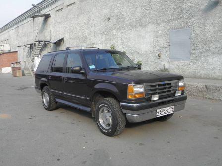 Ford Explorer 1994 - отзыв владельца