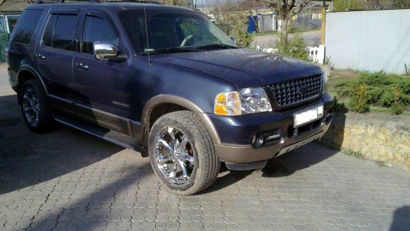 Ford Explorer 2002 - отзыв владельца