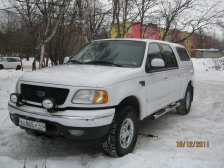 Ford F150 2001 - отзыв владельца