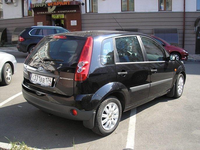 ford fiesta 1,4 2007 отзывы