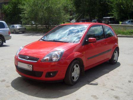 Ford Fiesta 2006 - отзыв владельца