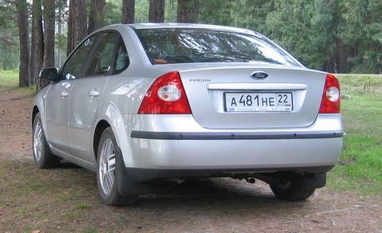 Ford Focus 2005 - отзыв владельца