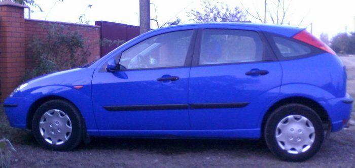 Ford Focus 2003 - отзыв владельца