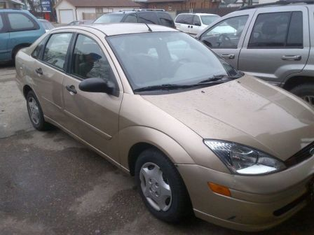 Ford Focus 2000 - отзыв владельца