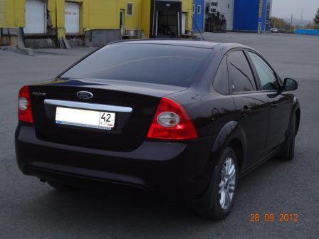 Ford Focus 2008 - отзыв владельца