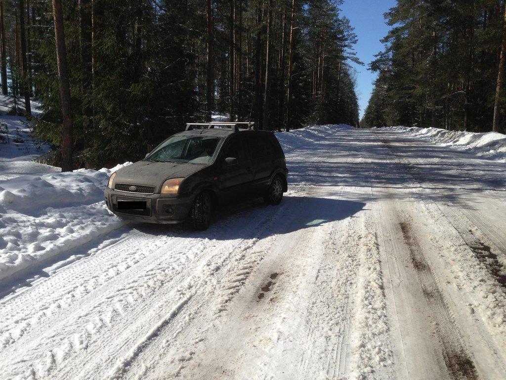 Типичная зима в Беларуси!