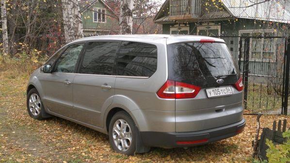 Ford Galaxy 2007 - отзыв владельца