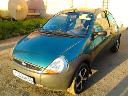 Ford Ka 1998 - отзыв владельца