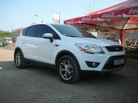 Ford Kuga 2008 - отзыв владельца