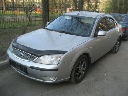 Ford Mondeo 2005 - отзыв владельца