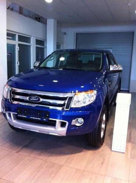 Ford Ranger 2012 - отзыв владельца