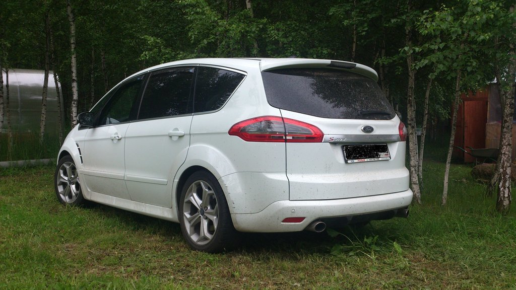 ford s-max 2.5 расход