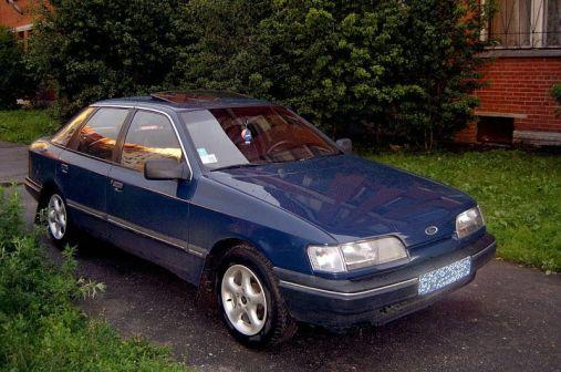 Ford Scorpio 1987 - отзыв владельца