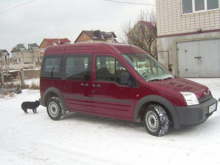 Ford Tourneo Connect 2007 - отзыв владельца