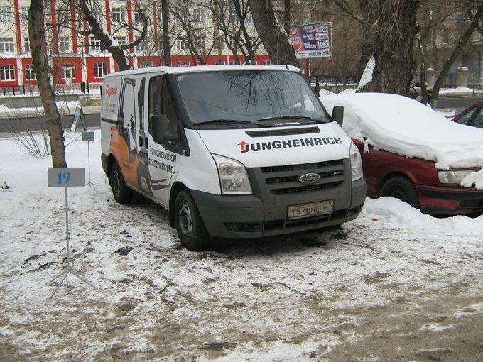 ford transit 155t460 зимний расход