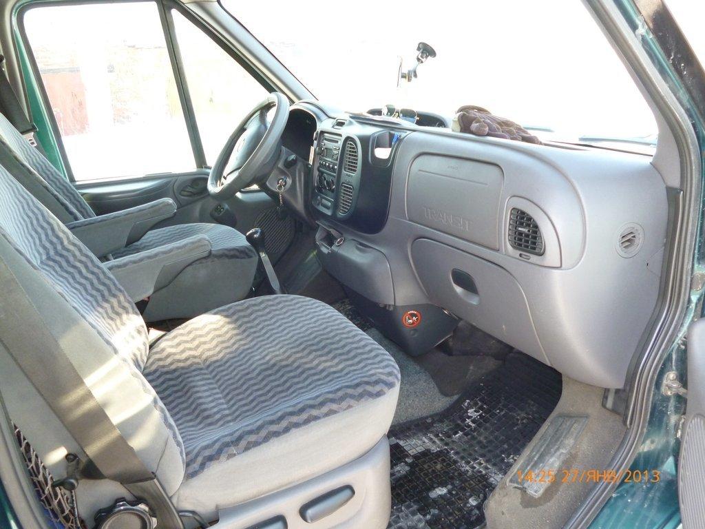 ford tourneo салон переделка
