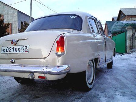 ГАЗ 21 Волга 1971 - отзыв владельца