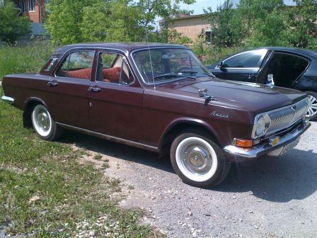 ГАЗ 24 Волга 1974 - отзыв владельца