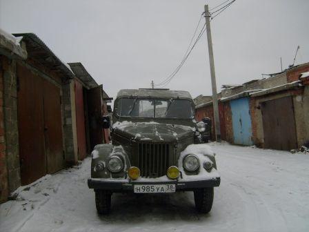 ГАЗ 69 1973 - отзыв владельца