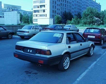 Honda Accord 1988 - отзыв владельца