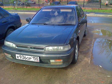 Honda Accord 1989 - отзыв владельца