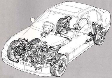 Honda Ascot, 1996
