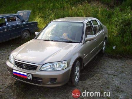 Honda City 2001 - отзыв владельца