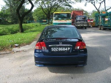 Honda Civic 2003 отзыв автора | Дата публикации 03.07.2008.