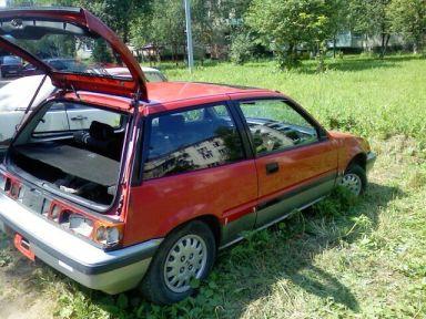 Honda Civic 1984 отзыв автора | Дата публикации 30.06.2010.