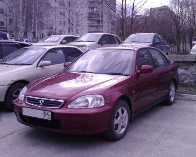 Honda Civic 2000 отзыв автора   Дата публикации 16.12.2012.