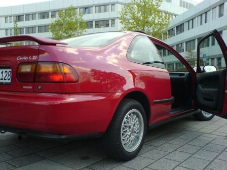 Honda Civic 1994 - отзыв владельца