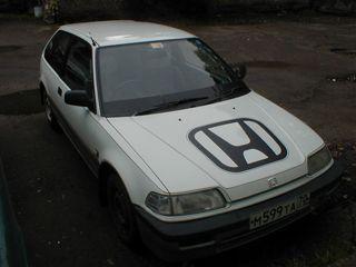 Honda Civic 1988 - отзыв владельца