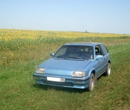 Honda Civic 1985 - отзыв владельца